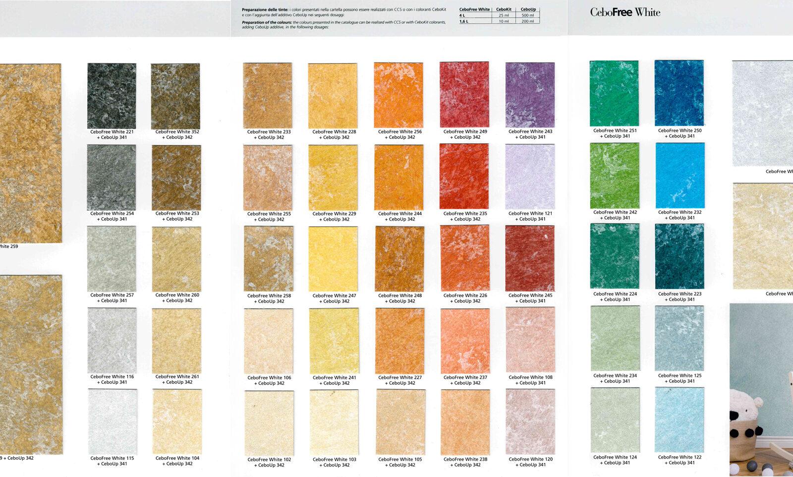 collezioni colori CeboFree White_web