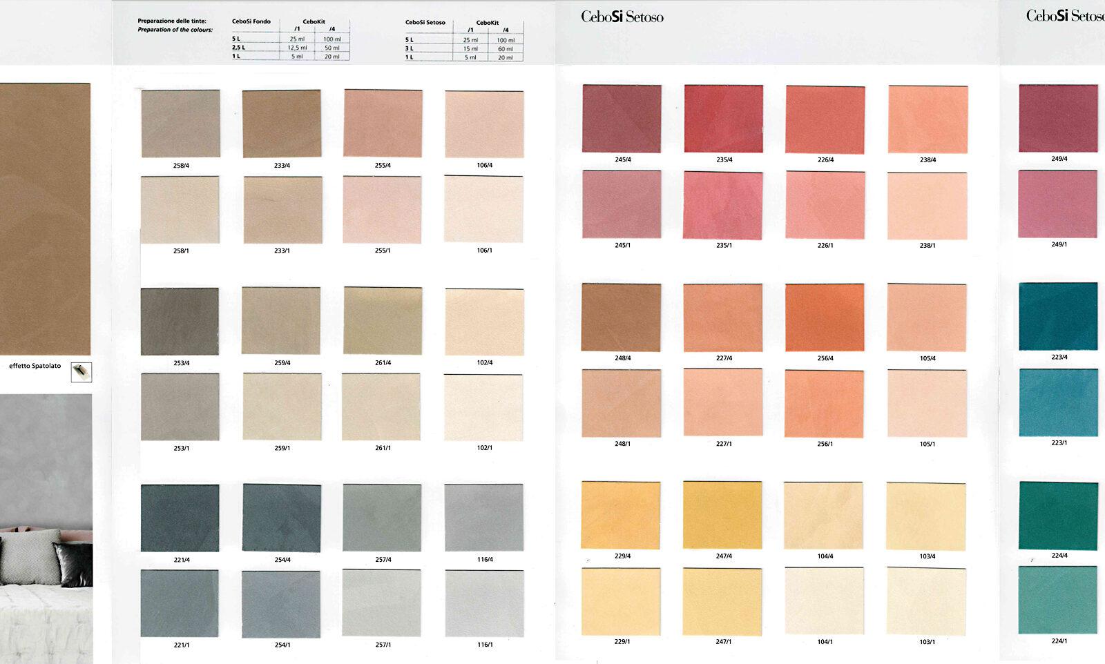 collezioni colori CeboSi Setoso_web
